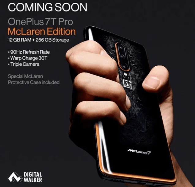 OnePlus 7T Pro McLaren Edition coming to the Philippines