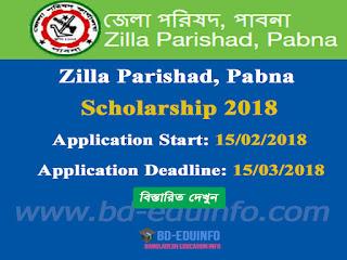 Pabna Zilla Parishad  Scholarship Circular 2017-2018