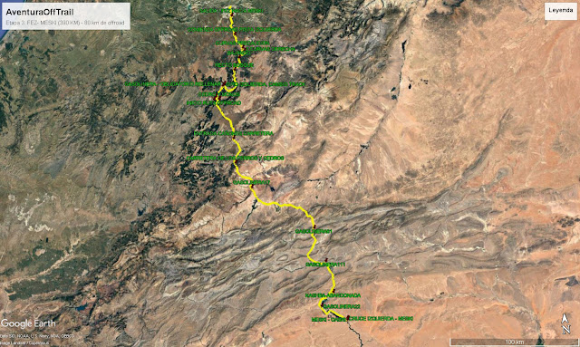FEZ - MESKI (390KM) 80 KM OFFROAD