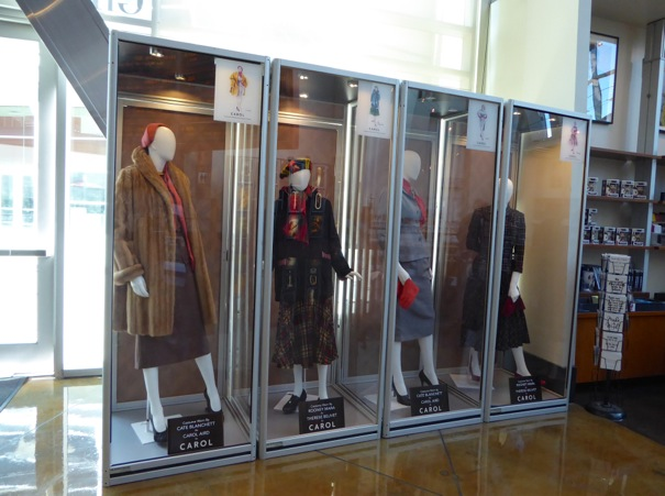 Carol film costume display