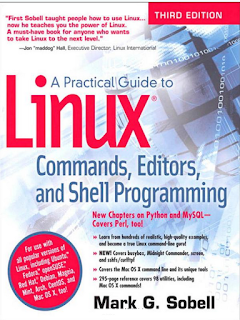 A practical guide to linux by sobell