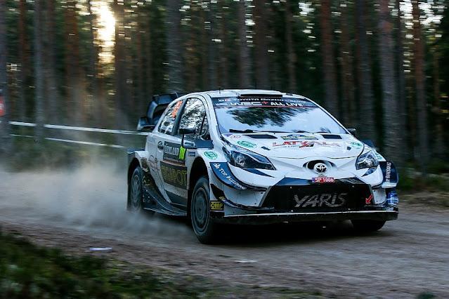 Jari Matti Latvala Toyota WRC