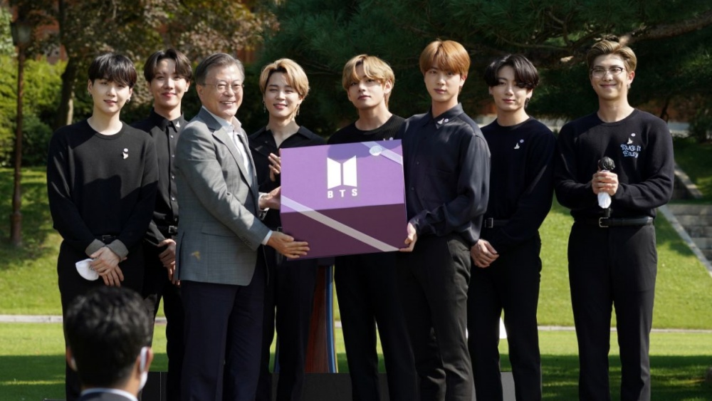 BTS will Meet President Moon Jae In for The Handover of The President's Special Envoy Certificate