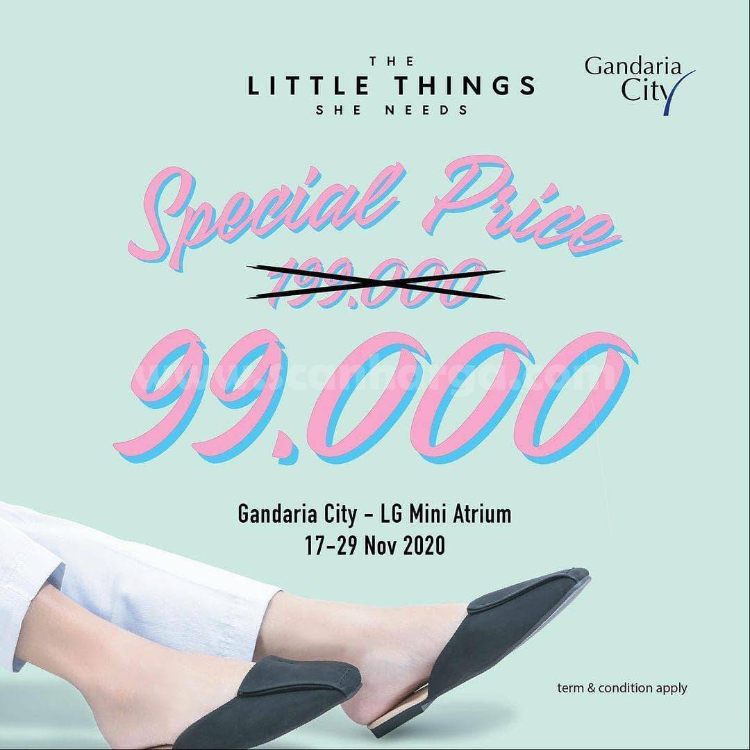 The Little Things She Needs Spesial Price IDR 99.000 only Gandaria City