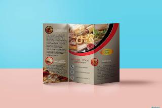 Best Tri-fold Brochure design mock up......