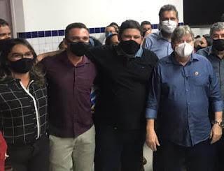 Rosane Emídio disparou ao contrario do cerimonial do prefeito Marcus Diogo, o grupo do governador João Azevedo foi extremamente educado com  a mesma