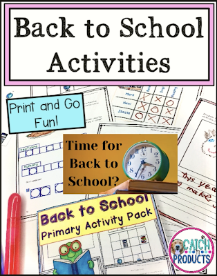 ideas, resources, teachers, back to school lessons