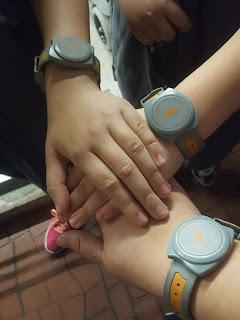 RFID bracelets at KidZania