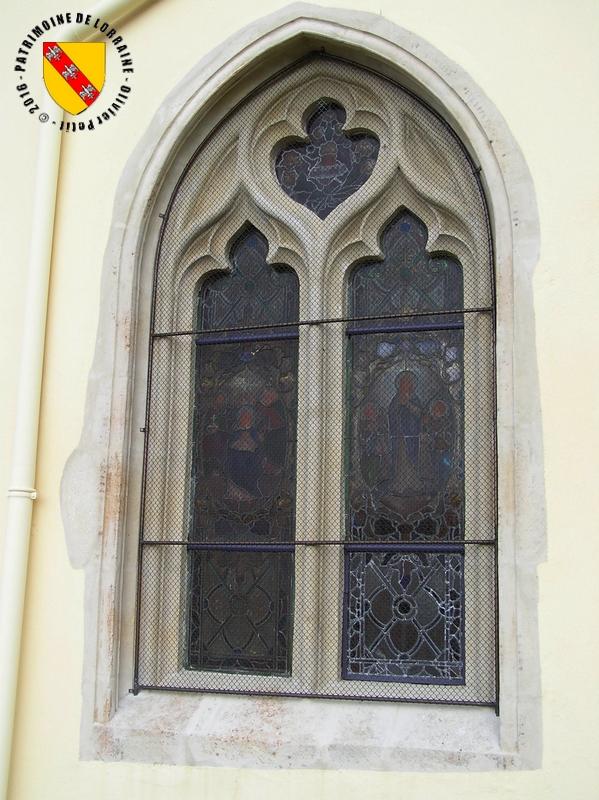 Patrimoine de lorraine germiny 54 eglise saint evre for Fenetre gothique