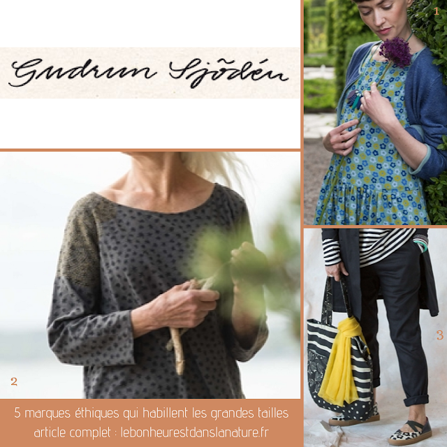 vetements ethiques grandes tailles Gudrun Sjöden