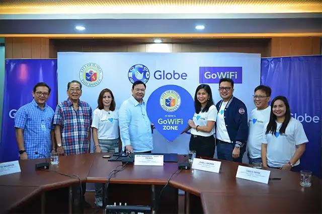 Iloilo City Becomes Globe GoWiFi Site