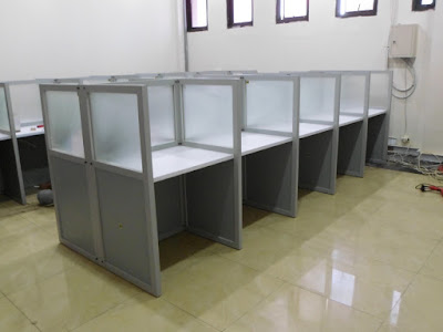 Cubicle Workstation Meja Partisi + Furniture Semarang