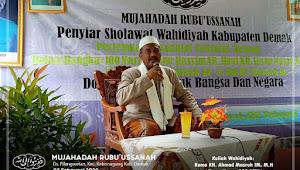 Mujahadah Rubuussanah Wahidiyah Kabupaten Demak di Kecamatan Kebunagung