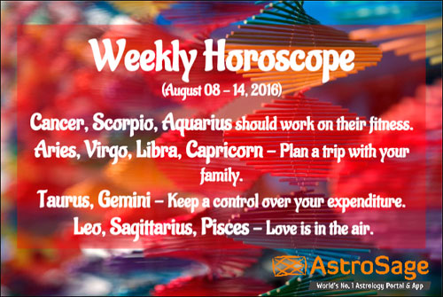 Weekly horoscope 2016 predictions by experts is here.