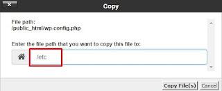 Memindahkan File WP Config