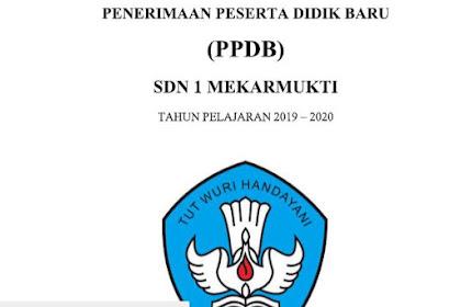 Download, Undiuh Proposal PPDB SD Tahun Pelajaran 2019/2020, Sudah Jadi, Tinggal Edit