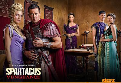 Spartacus Vengeance - Sezonul 2 În Două Noi Clipuri Publicitare