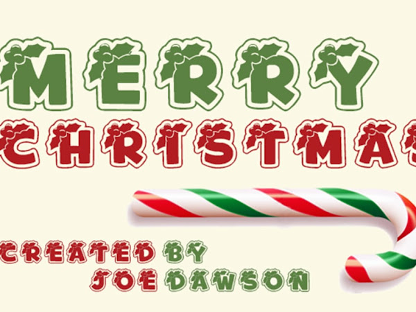Merry Christmas Beautiful Font Free Download