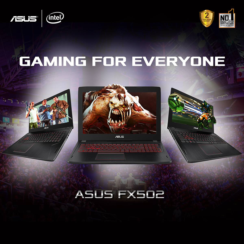 Asus ROG FX502VM With GeForce GTX 1060 Now Official, Price Starts At PHP 69995!