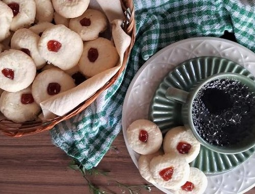 Sequilhos recipe with guava