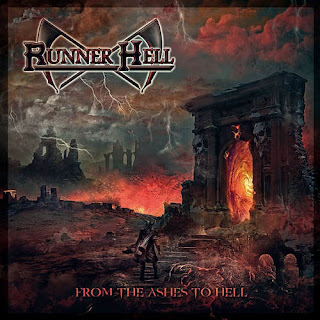 "Το τραγούδι των Runner Hell ""Red Wine, Red Venom"" από το album ""From the Ashes to Hell"""