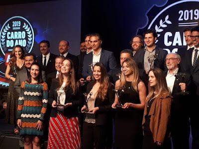 Os premiados da noite reunidos pela Revista Autoesporte.