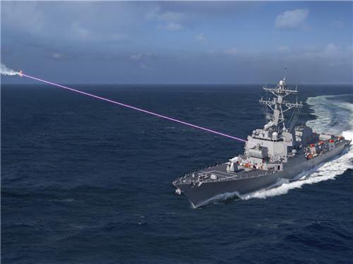 Mỹ triển khai vũ khí Laser cho tàu đổ bộ của hải quân