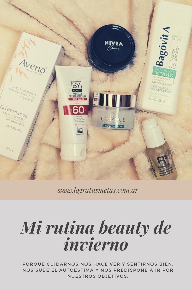 Mi rutina beauty de invierno para piel seca