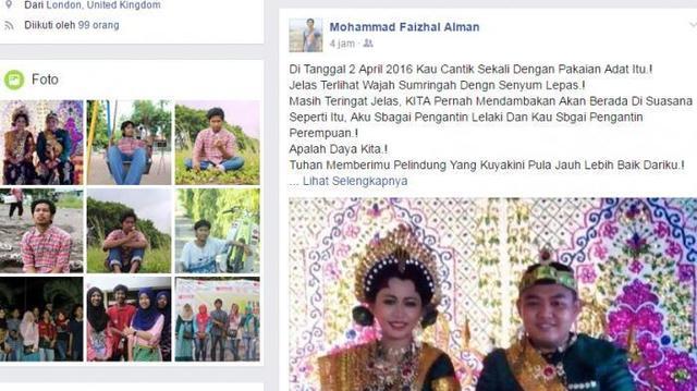 Kasihan!! Pacar Dinikahi Manajer, Mahasiswa Ini Curhat di Facebook