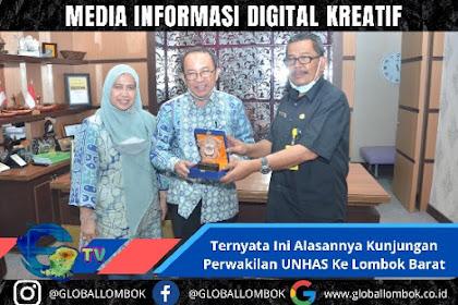 Ternyata Ini Alasannya Kunjungan Perwakilan Unhas Ke Lombok Barat
