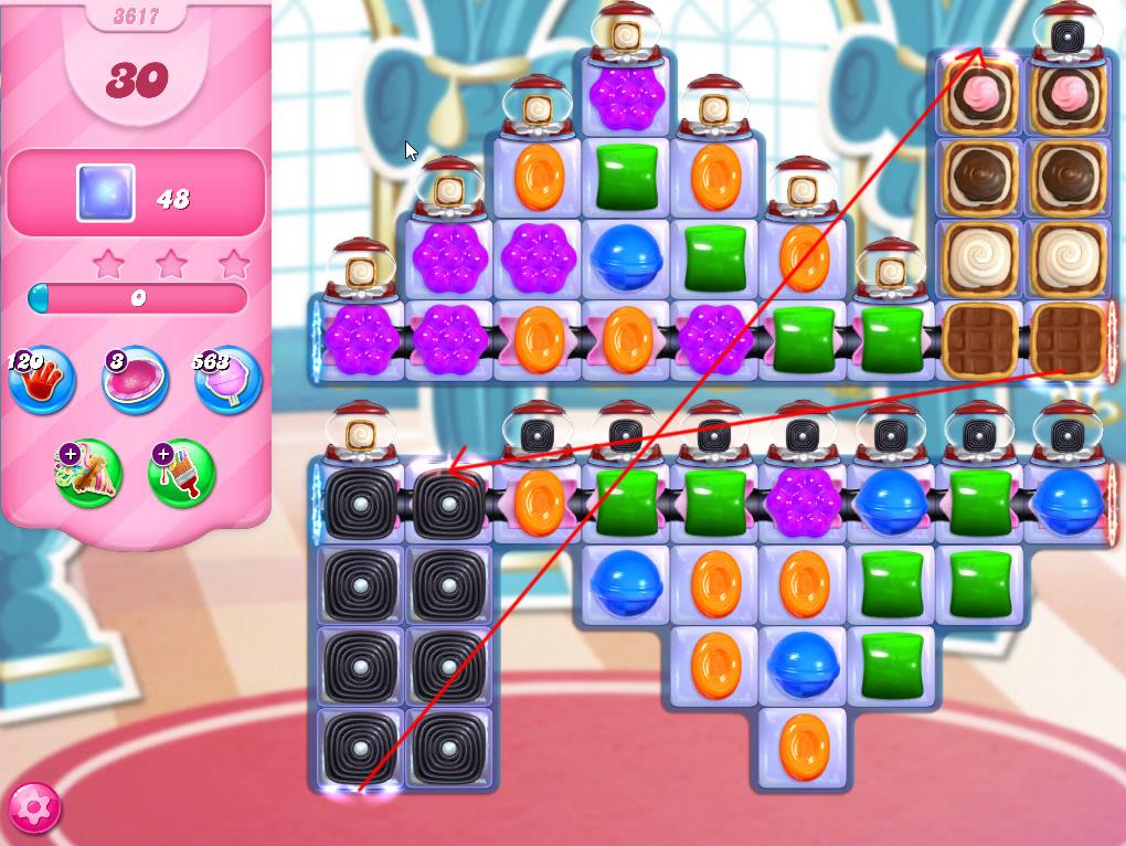 Candy Crush Saga level 3617