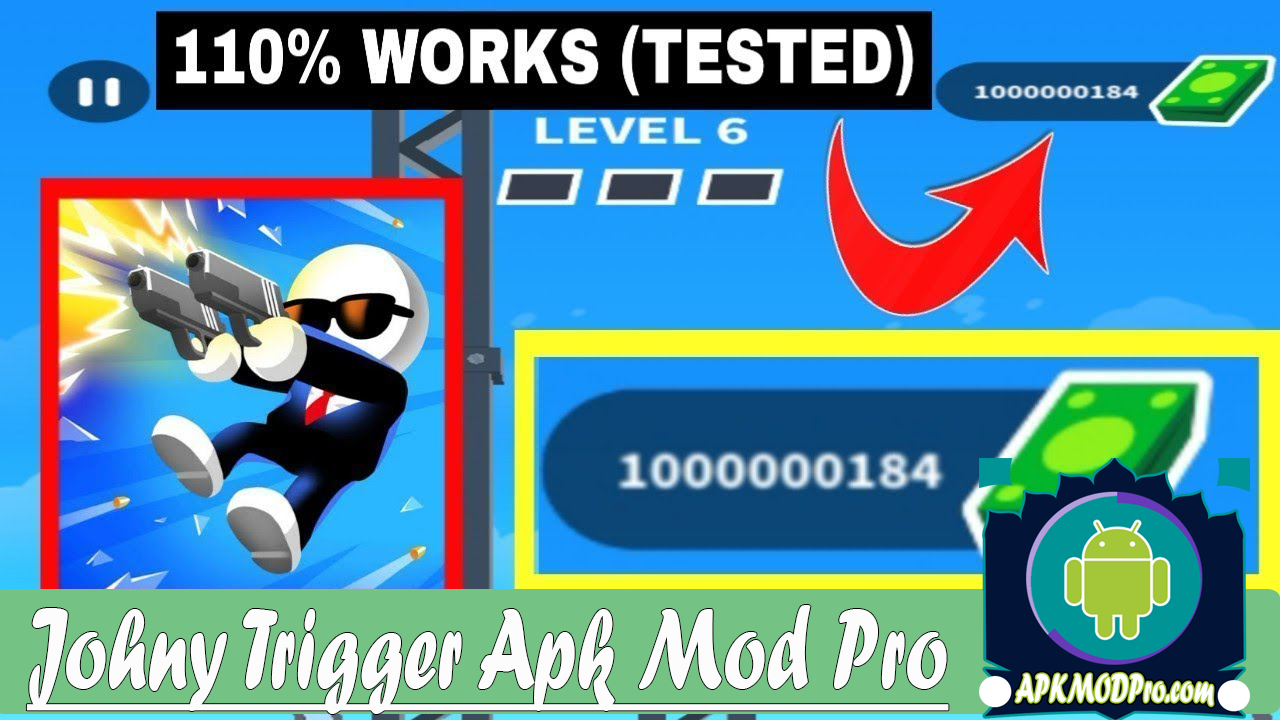 Johnny Trigger Mod Apk 1.4.1 ( Mod Unlimited Money ) Terbaru 2020