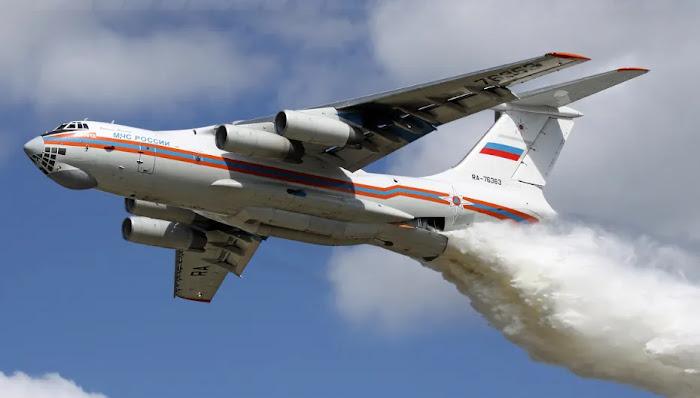 Έδιωχναν τα ρωσικά μεγαθήρια πυροσβεστικά Il-76 από τα Βίλια και τώρα απειλούνται κατοικημένες περιοχές!