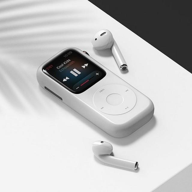 Pod Case, Menjadikan Apple Watch Seperti iPod Classics;iPod Cases, untuk Apple Watch Masa Kini;