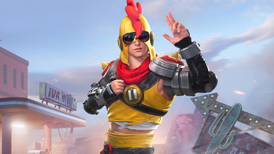 PUBG, Set, Mother Clucker, Skin, Outfit, 4K, #5.1972