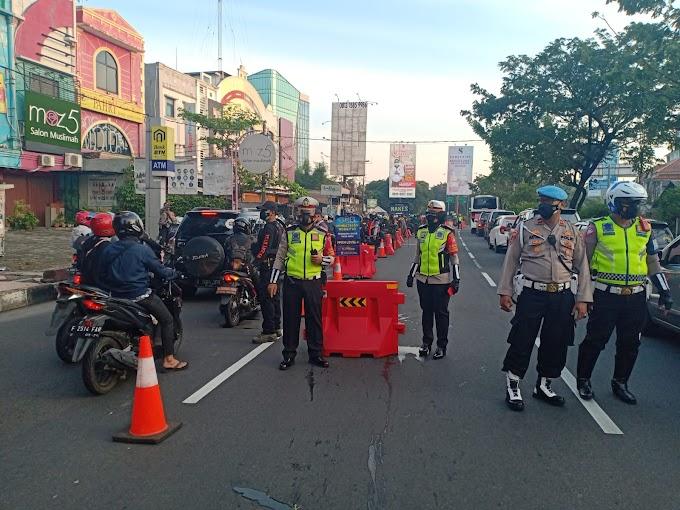 Penyekatan PPKM Level 4 di Jalan Margonda Terus  Berlangsung Hingga 9 Agustus