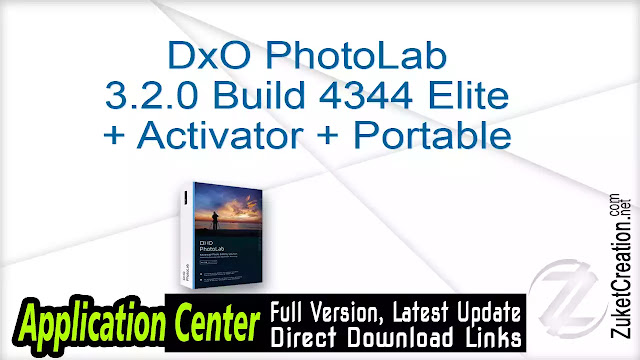 DxO PhotoLab 3.2.0 Build 4344 Elite + Activator + Portable