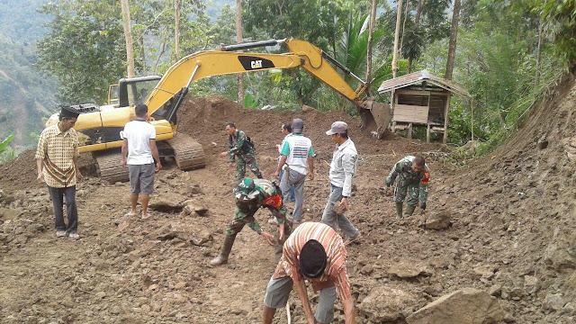 Jelang Pembukaan TMMD Kodim 1424/Sinjai, Masyarakat Semakin Antusias Bergotong Royong