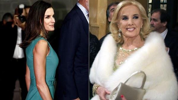 La reina Letizia quiere conocer a Mirtha Legrand