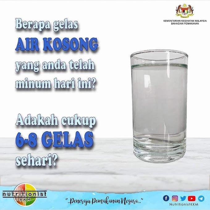 Berapa Gelas Air Putih Sehari ?