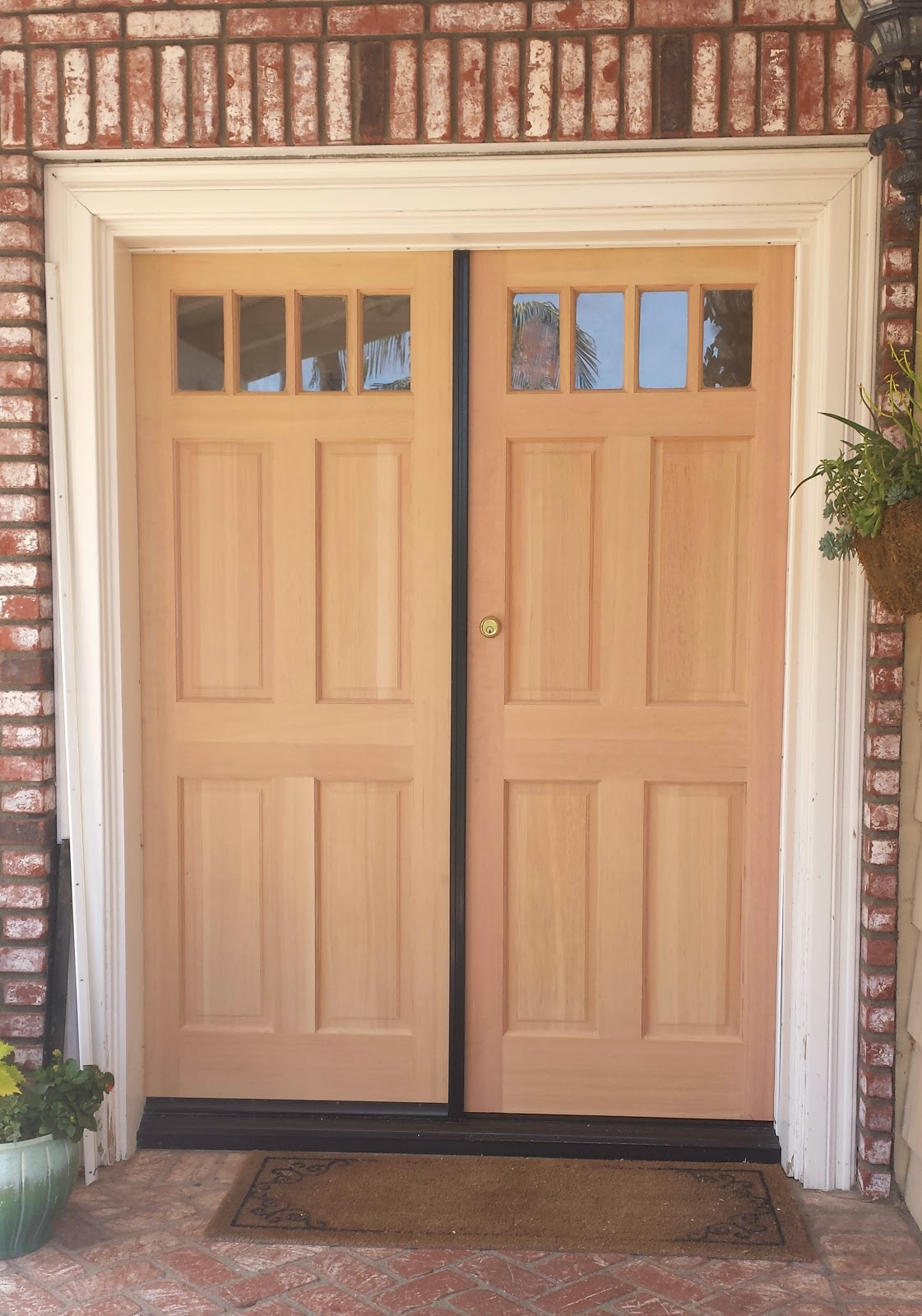 Ciao newport beach knock knock a front door makeover for Looking for front doors