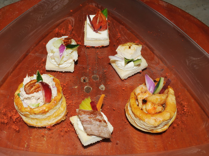 snacks  Appetizers, Canapes, starter, Dips and Hors d'Oeuvres aboard
