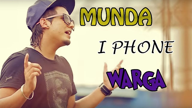 Munda Iphone Warga Lyrics