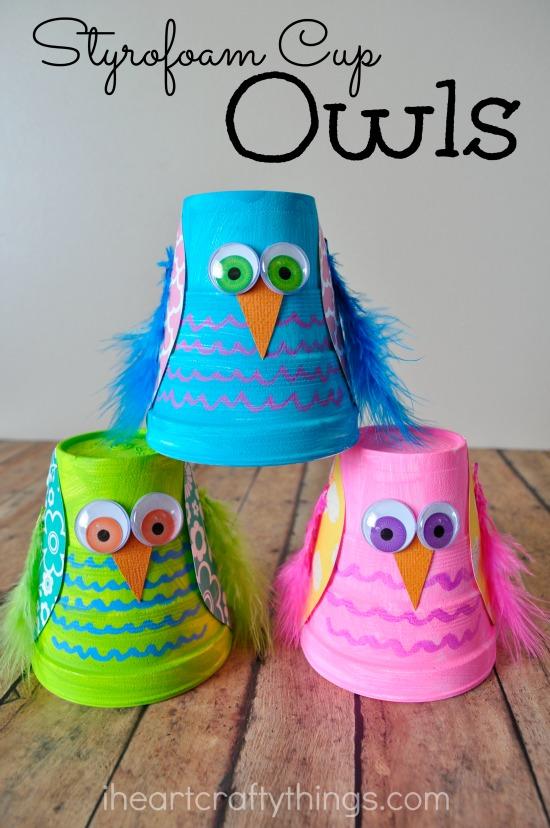 Easy Owl Crafts For Preschoolers