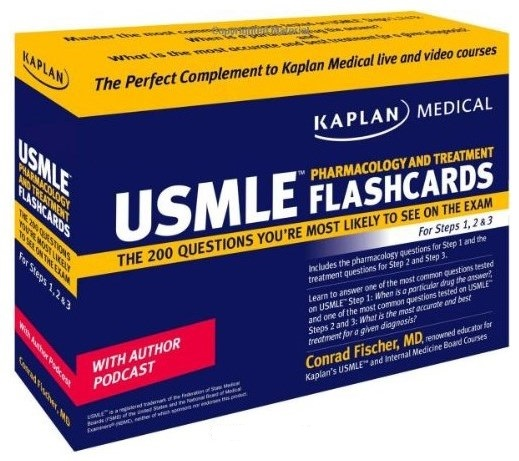 USMLE Pharmacology and Treatment Flashcards – Conrad Fischer