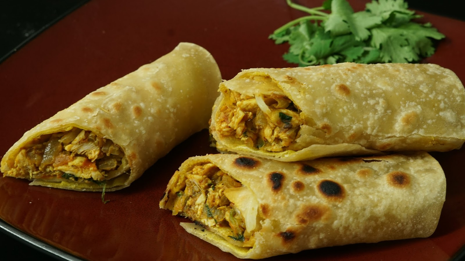 Chicken Kathi Roll Recipe | Steffi's Recipes