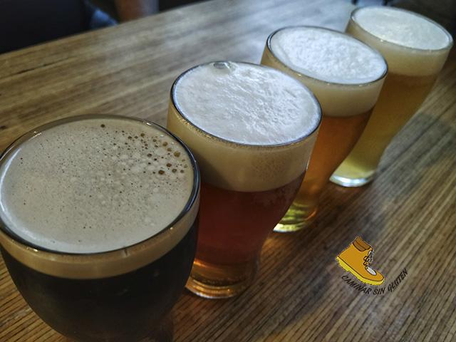 Cervezas artesanas con gluten de Patanel