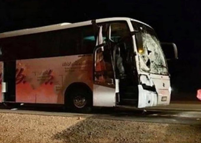 3 Pilgrims die after bus collision with a camel