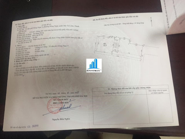 Minh Đại Lộc công bố sổ hồng chung cư mini Minh Đại Lộc 2