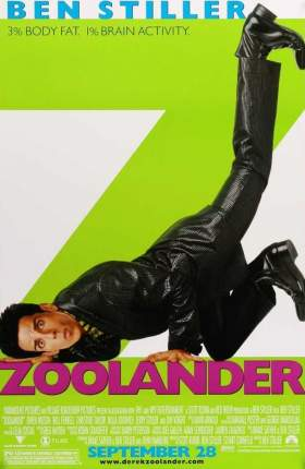 Zoolander 2001 Dual Audio Hindi 750MB BluRay 720p